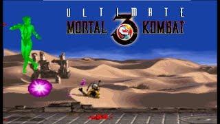Ultimate Mortal Kombat 3 - Kabal【TAS】
