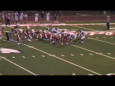 Tomball Concordia vs Hitchcock   Run block by Jake Lowrey #76