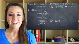 Composite functions and their domains (KristaKingMath)