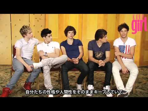 One Direction interview - ELLE girl