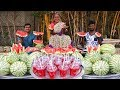 100 KG Watermelon Juice | Watermelon Juice Donating to Kids