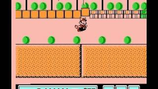 Super Mario Bros 3 - Nintendo NES - secret way to get past World 2-4 - User video