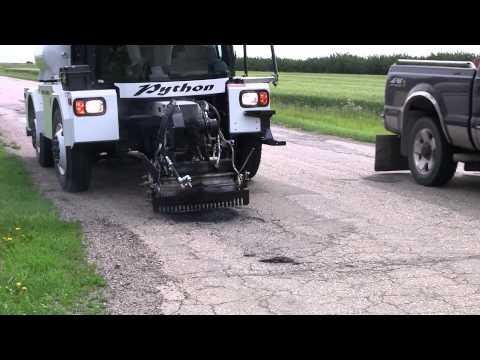 Python 5000 Pothole Patcher