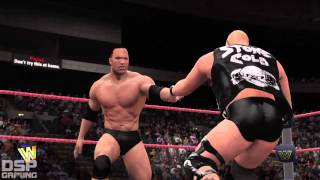 WWE2K16 2K Showcase: Raise Some HELL pt7 - vs. The Rock for the IC Title