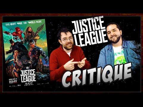 Critique - Justice League - Avec ET sans Spoil (Spoilers à partir de 12:56)
