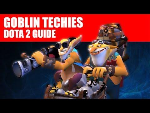 видео: goblin techies / Минер - dota 2 guide