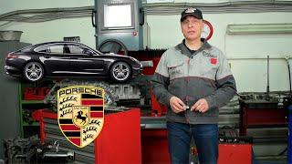 Ремонт двигателя Porsche Panamera. Как избежать замены блока.