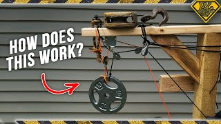 Playing with Pulleys & Inventing a Tree House Elevator