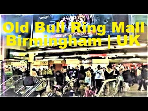 Birmingham New Street Train Station The Old Concourse The Final Day 27 April 2013 Bull Ring