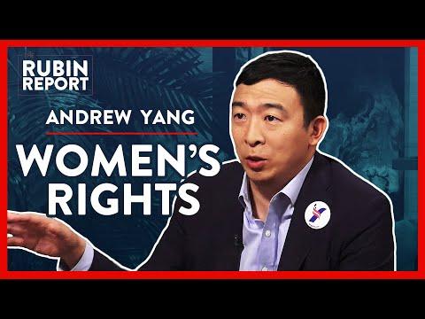 Andrew Yang on Women's Rights | Andrew Yang | POLITICS | Rubin Report