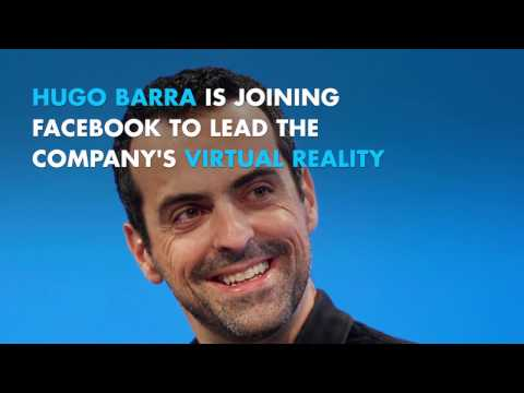 Hugo Barra joins Facebook to lead virtual reality business