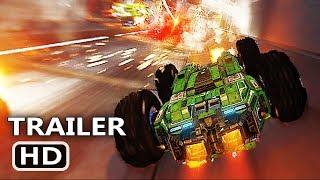 PS4 - Grip Gameplay Trailer (2018) Combat Racing Game