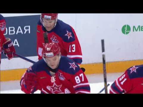 Mamin stunning pass on Svetlakov goal