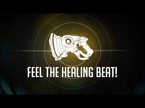 Feel The Healing Beat! (Lúcio's Sonic Amplifier Heal Mode)