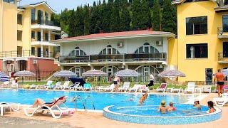Отдых в Крыму курорт парк отель с бассейном Демерджи Алушта все включено номер люкс видео обзор