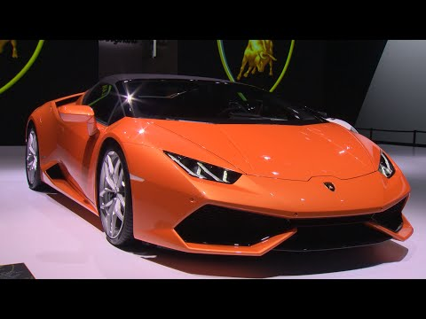 Huracán LP 610 4 Spyder: IAA 2015 Highlights