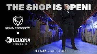 THE SHOP IS OPEN! | KOVA x Leijona Group