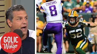 Golic sounds off on Packers Clay Matthews penalty | Golic & Wingo | ESPN
