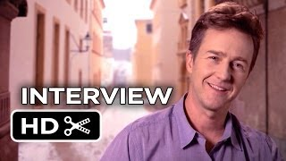 The Grand Budapest Hotel Interview - Ed Norton (2014) - Wes Anderson Comedy Movie HD