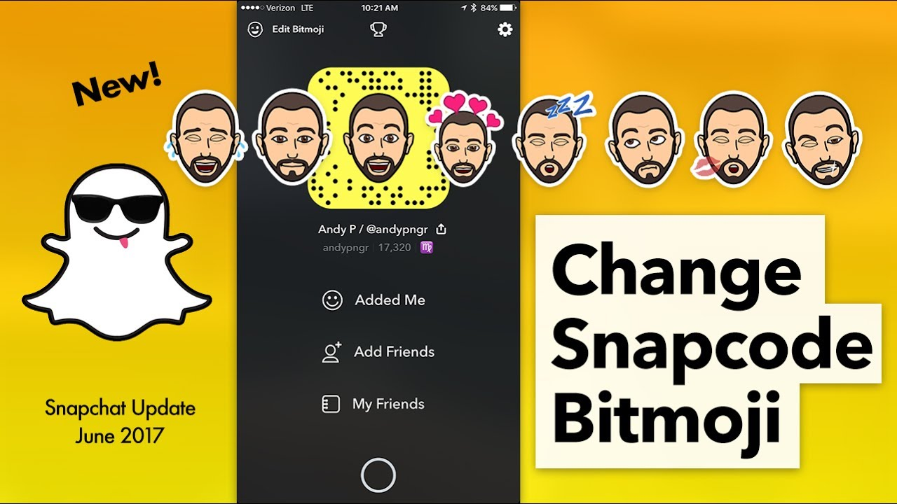 How to Edit Bitmoji on Snapcode   Change Outfit in Snapchat - YouTube c13ac48df04