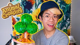 I made an Animal Crossing tree in real life