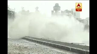 High tide alert amidst heavy rain in Mumbai