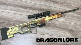 Awp Dragon Lore Yapımı (How to make a dragon lore. Real life) - CS GO
