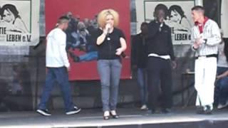 Cooler Hip Hop - Rap aus Berlin - Part 5 - am Brandenburger Tor - 1.5.2010