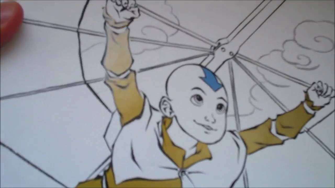 avatar the last airbender dark horse colouring book review youtube