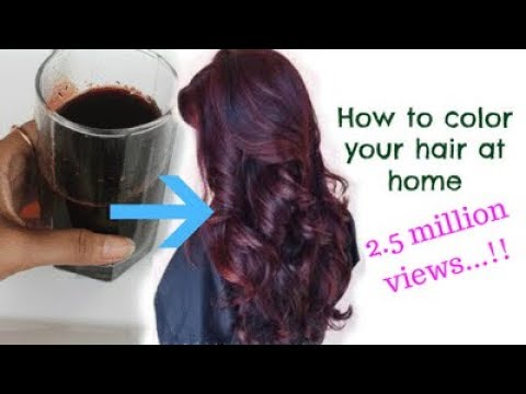 How to Instantly color your hair at home |100% natural