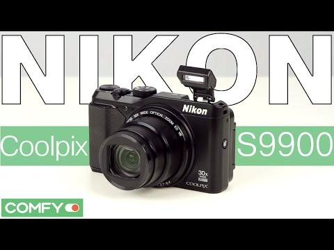 Nikon Coolpix S9900 - компактная ультразум фотокамера - Видеодемонстрация от Comfy