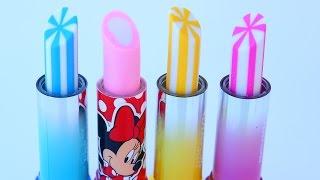 Mickey Mouse Lip Balm Eraser Lip Gloss DIY
