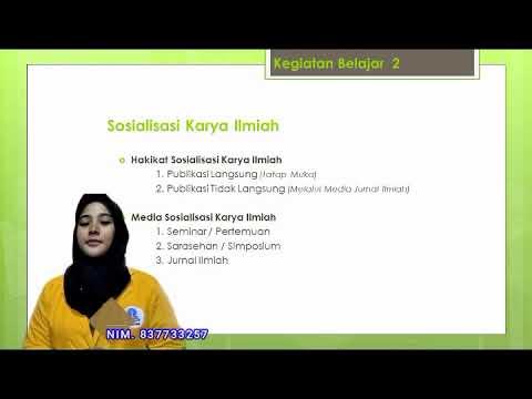 Presentasi Teknik Penulisan Karya Ilmiah Modul 6