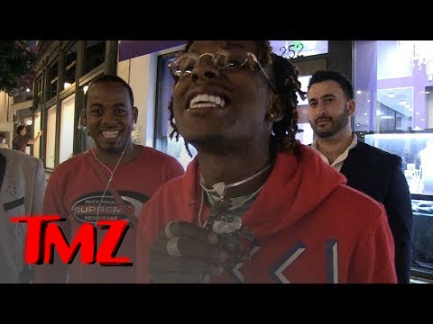 Rich The Kid Drops a Fortune on Papa Smurf Chain!!! | TMZ