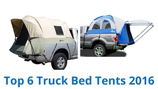 6 Best Truck Bed Tents 2016