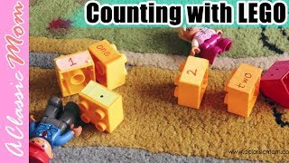 Lego Activities for Kids | Learn Counting With LEGO | Numbers with LEGO | A Classic Mom lego review