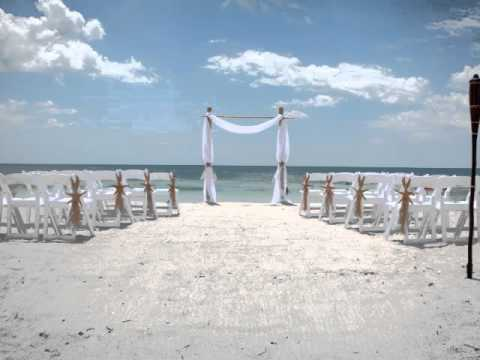 Beach Weddings In Florida With Reception