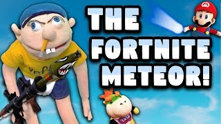 SML Parody: The Fortnite Meteor!