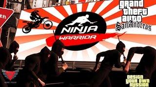 Game Show Ninja Warrior Menggunakan Motor Trail Di GTA Extreme Indonesia DYOM #4