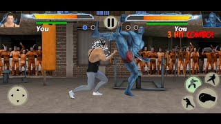 Gym fighting Games: Bodybuilder Trainer Fight PRO GAMEPLAY! (Android) screenshot 2