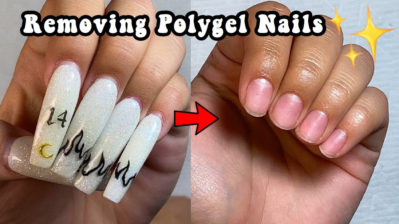 Polygel How To Remove Polygel Nails Makartt Polygel Youtube