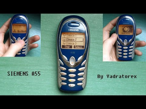 Siemens A55 Retro Review (old Ringtones, Games, Images...)