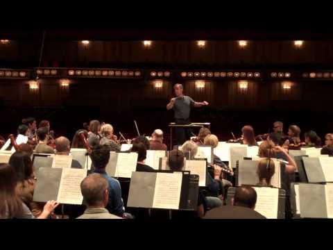 STL Symphony Video Blog - 4/6/11 Rehearsal