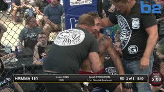 HRMMA 110 Fight 9 Isaiah Ferguson vs Justin King 135 PRO
