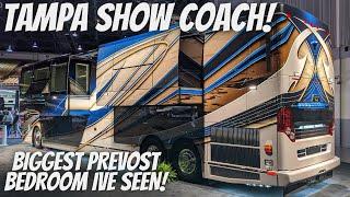 2021 Prevost Liberty Coach triple slide with 2 bedroom super slides!