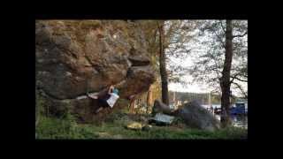 Bouldering Feta Sprickan Ålsten