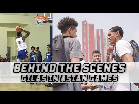 Behind The Scenes: Gilas Pilipinas with Jordan Clarkson   Preparation Against China