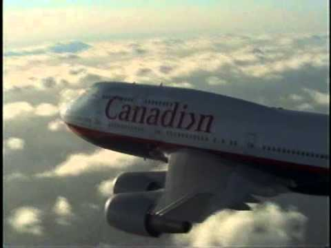 Jetliners---Canadian Airlines Intl. Boeing 747-400 New Colors