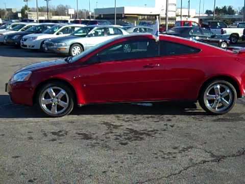 2006 Pontiac G6 GT coupe from Diepholz Auto Group www