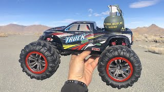Sending Grenades with RC Cars
